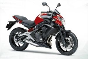 2013-Kawasaki-ER6n-red