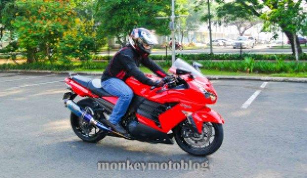 test ride ride zx14-10