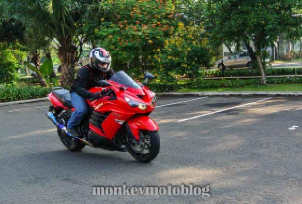 test ride ride zx14-5