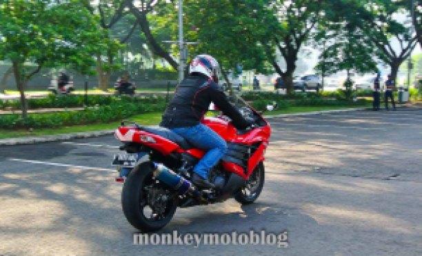 test ride ride zx14-6
