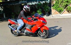 test ride ride zx14-8