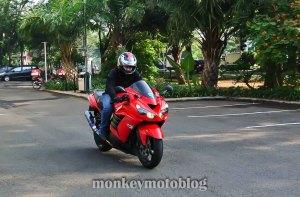 test ride ride zx14-9