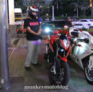 test ride rivale 800-3
