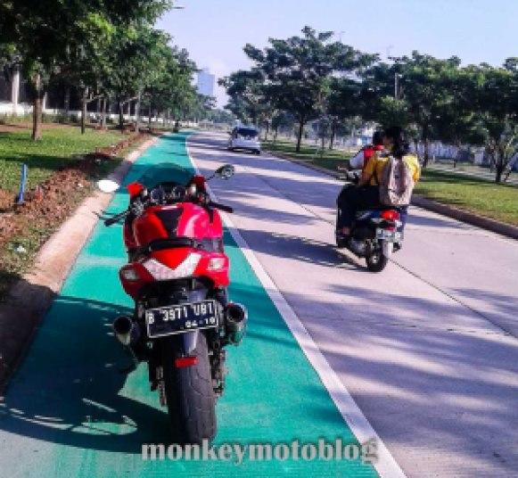 test ride zx14-3