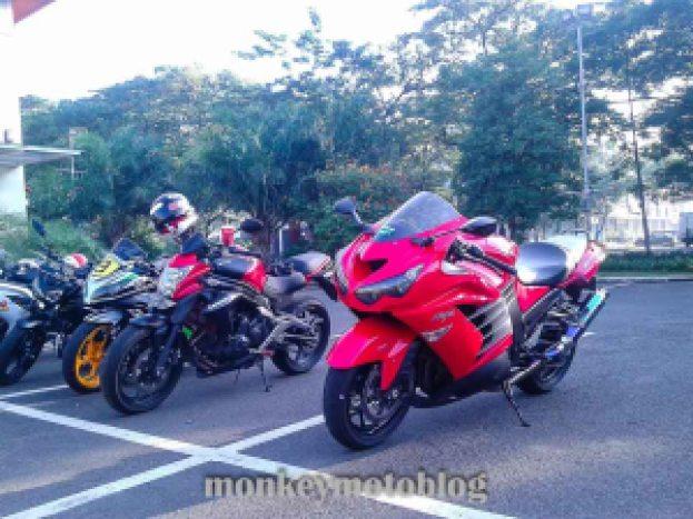 test ride zx14